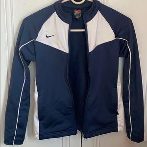 Girls Nike zip up workout jacket